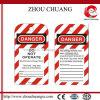 多彩なPrinting Danger TagoutおよびLabel (ZC-T04)