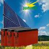 태양 에너지를 위한 Accesss Lead-Acid 정면 끝 통신 건전지 12V155ah
