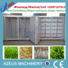 Máquina hidropónica del forraje de la industria del ganado de la cebada automática del alimento
