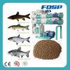 Alimentação de flutuação qualificada eficiente elevada dos peixes que faz o moinho da pelota da alimentação do Aqua da máquina