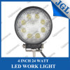 4 reflector/proyector del trabajo de la alta calidad LED de la pulgada 24W 9-32V