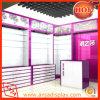 Pantalla de tienda de madera con diseño de vidrio de 5 niveles