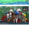 Outdoor Parque Slide com Outer Space Peças dos desenhos animados (HA-07301)