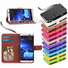 Cartes de crédit folles Slots Holder Book Stand Mobile Magnet Flip Wallet Leather Cover Cas d'identification de Horse pour HTC One M7 M8 M9 M9 Plus Mini 2