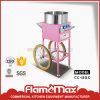 Creatore della macchina della caramella di cotone del gas di Cc-12gc con il carrello