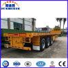 Jushixin 3 Axle 40FT планшетный контейнера трейлер тележки Semi