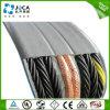 Câble plat H07vvh6-F Yffb de grue de déplacement de résistance froide flexible