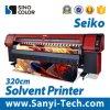 принтер Sinocolor Sk-3278s большого формата Spt510 3.2m растворяющий для скоростного печатание гибкого трубопровода