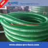물결 모양 정전기 방지 나선형 강철에 의하여 강화되는 엄밀한 공간 PVC 호스