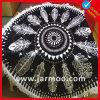 高品質の多彩な円形のビーチタオル