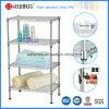 Регулируемый шкаф полотенца комнаты запитка ванны провода металла крома (CJ-C1187)