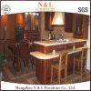 Muebles de lujo elegantes de la cabina de cocina de madera sólida 2017