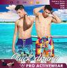 Unbelegter Großhandelsvorstand schließt en gros, kundenspezifische Badebekleidung für Mens kurz