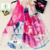 De hete Manier van de Sjaal van Verkoop Nieuwste 200*140cm Chiffon Afgedrukte Dame Scarf