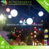 Bola plástica clara al por mayor DMX del RGB LED de la bola