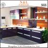 N&L L gabinete de cozinha da forma com a bancada da pedra de quartzo