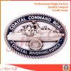 Moneta su ordinazione del metallo con le varie figure per il ricordo militare