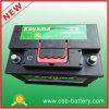 Venta al por mayor sin necesidad de mantenimiento de plomo de la batería de coche del coche de batería del arrancador superior DIN75mf 12V75ah
