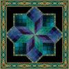 Sicheres lamelliertes Muster-unterschiedliches Art-Kirche-Glas-Buntglas