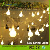 USB Fairy Starry Light 5V 16FT / 5m 2.5W 80lm 40 LED Globes Warm White LED String Light para Decoração