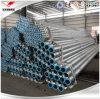 Estremità filettata galvanizzata del tubo con l'accoppiamento e la protezione