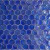 Azzurro di cobalto di vetro delle mattonelle di mosaico