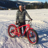 48V浜のEbike 500Wの人のための脂肪質のタイヤEのバイク