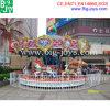 Лошади Carousel парка атракционов (carousel-005)
