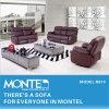 リクライニングチェアのソファー、家の家具の革ソファー、セットされる現代ソファー(R81)