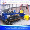 Máquina de estaca portátil do plasma da placa da tubulação de aço do CNC do pórtico