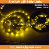 Nastro giallo dell'indicatore luminoso della flessione SMD 5050 LED di colore (HY-SMD5050-30-Y)