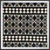 Laço de múltiplos propósitos da guipura do laço geométrico do bordado