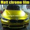 Обруч Vinyl Film 1.52*20m Car желтого крома Matte высокого качества