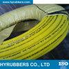 Mangueira espiral da borracha da pressão de ar da fibra