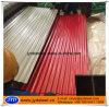 Hoja de acero del material para techos del Galvalume acanalado del color