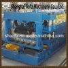 Le profil 828 en métal a glacé la tuile faisant le roulis formant la machine