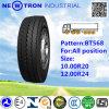 Preiswertes Bt568 10.00r20 Radial Truck Tyre für All Position