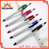 Дешевая пластичная ручка Ballpoint логоса для промотирования (BP0208S)