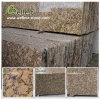 Mattonelle di pavimento di pietra naturali del granito di Giallo Fiorito