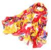 パターンPolyester Scarfハングのジャカードネパールのカシミヤ織のスカーフの方法女性