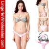 De sexy Bikini van Dames vrij Tweedelig in Patroon Halter Bandeau Swimwear