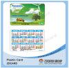 Дешевая карточка PVC календара линияа связи между главами правительств Helpline/информации 2015