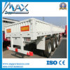 3 árboles 50tons High Bed Cargo Semi Trailer Manufacture
