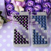 iPhoneのためのDIY Bling Diamond Rhinestone Back Cover Mobile Phone Case
