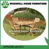 Jogo da mobília do pátio do jardim da madeira de carvalho