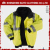 Uniforme elevado do revestimento do Workwear do inverno dos homens do Vis (ELTSJI-7)
