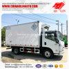 Gewicht 3 Tons Cooling Van Truck van de rand voor Vervoer van het Voedsel