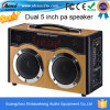USB/SD/Mic를 가진 책가방 Style Dual 5 ' Mini Portable Rechargeable Speaker