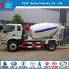 Vrachtwagen van de Mixer van Foton 4X2 de Mini voor Verkoop