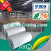 Matt Surface Coating PP Papel impermeable sintético para Label & Folletos